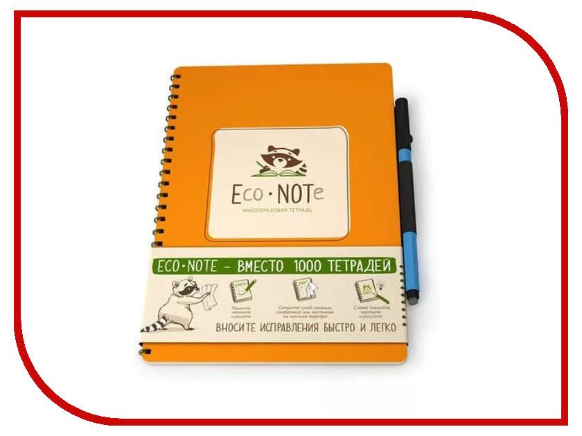 Здесь можно купить MTO-01  Многоразовая тетрадь EcoNOTe A5 Orange MTO-01 Канцелярские товары