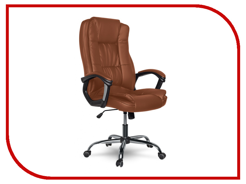 Компьютерное кресло College XH-2222 / CLG-616 LXH Brown кресло руководителя college xh 2222 бежевый
