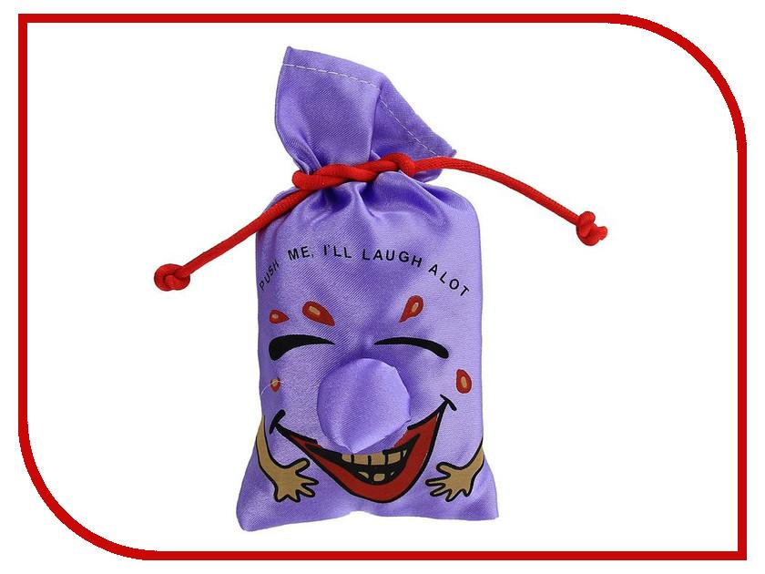 Игрушка антистресс Мешок со смехом Эврика Purple 93396