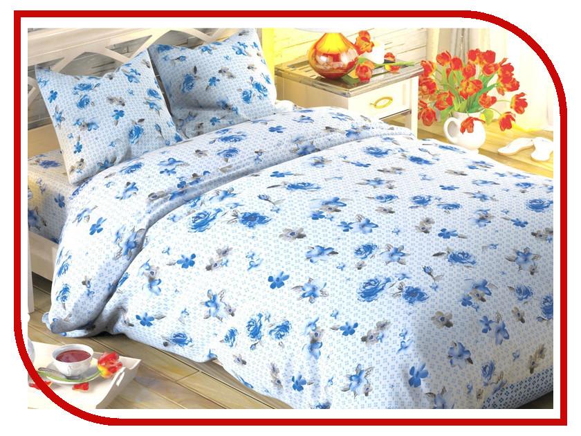 Постельное белье Этель Традиция Комплект 1.5 спальный Поплин 1504618