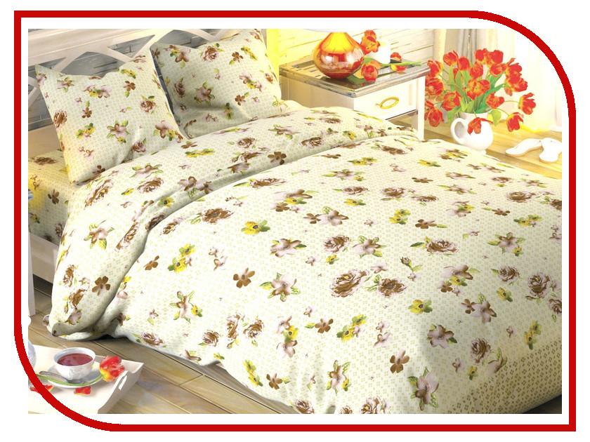 Постельное белье Этель Традиция вид 2 Комплект 1.5 спальный Поплин 1504619