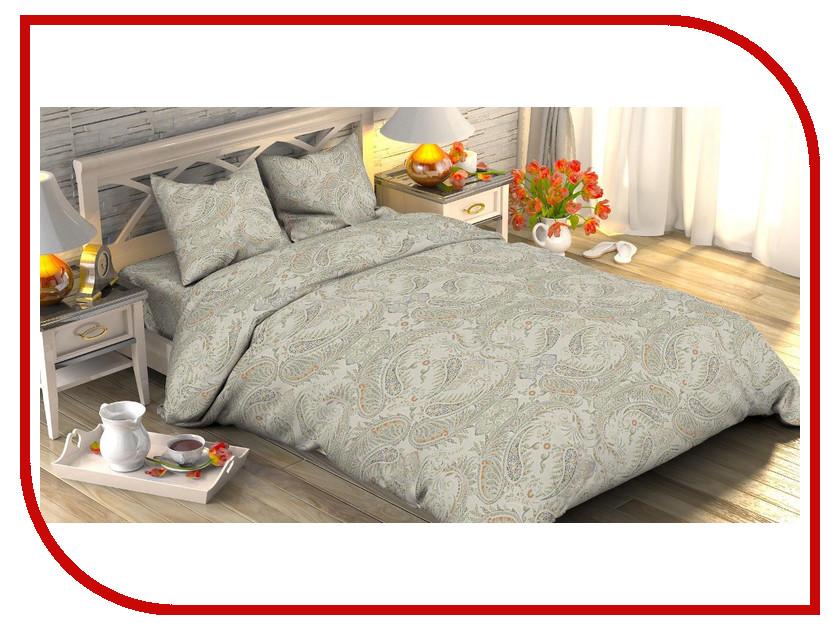 Постельное белье Этель Сильвер Комплект 1.5 спальный Поплин 1534725