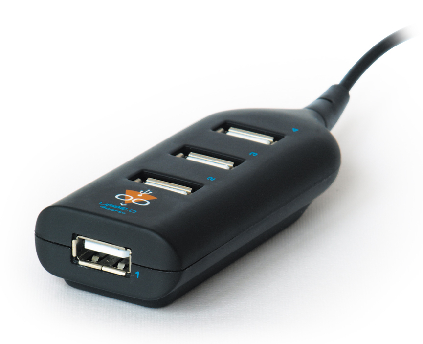 Хаб USB Konoos UK-02 Фрегат 4-ports