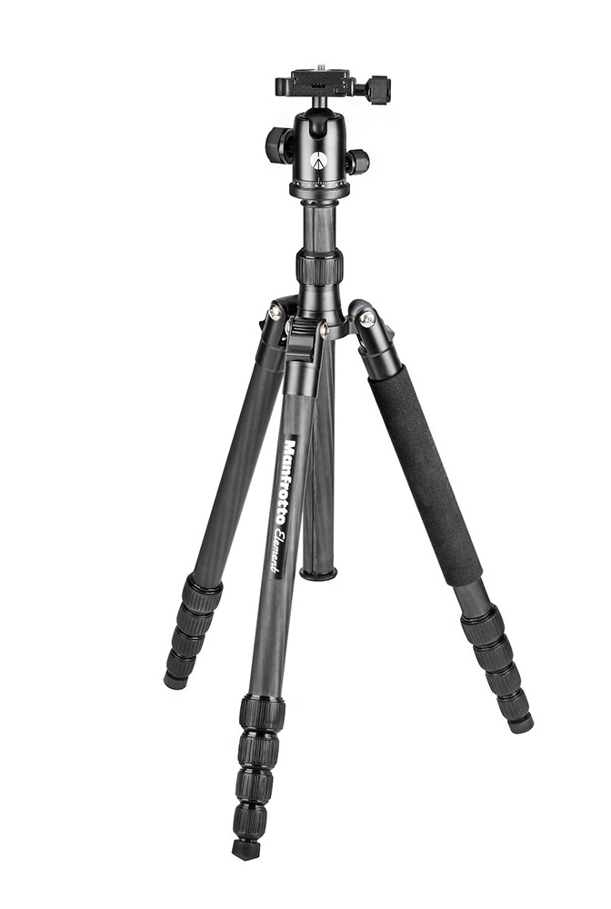 Штатив Manfrotto Element Traveller MKELEB5CF-BH