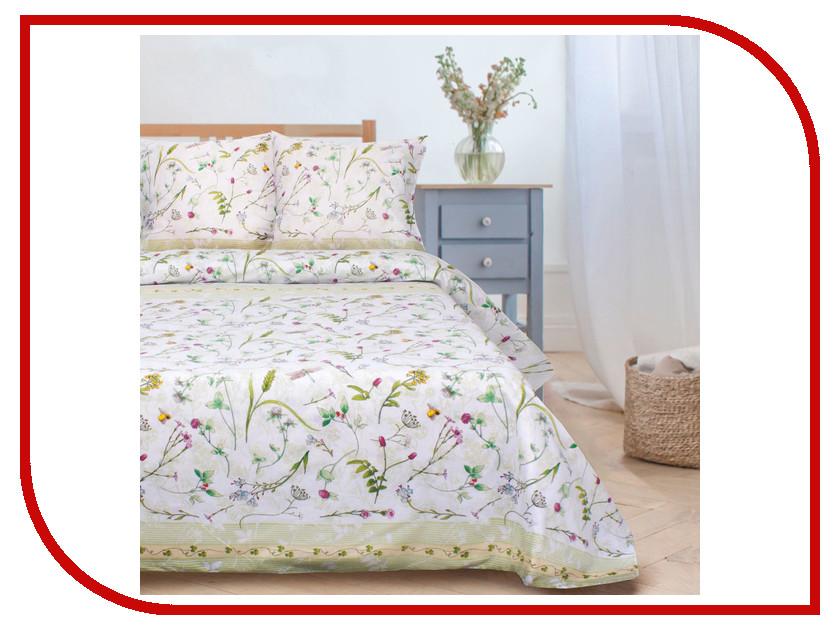 Постельное белье Этель Полевые цветы Комплект 1.5 спальный Поплин 1972258