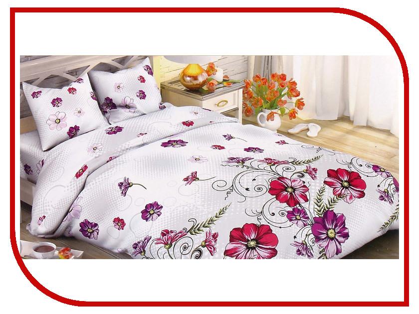Постельное белье Этель Полевые маки Комплект 1.5 спальный Поплин 1534717