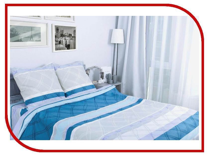 Постельное белье Этель Морской бриз вид 2 Комплект 1.5 спальный Поплин 1154314