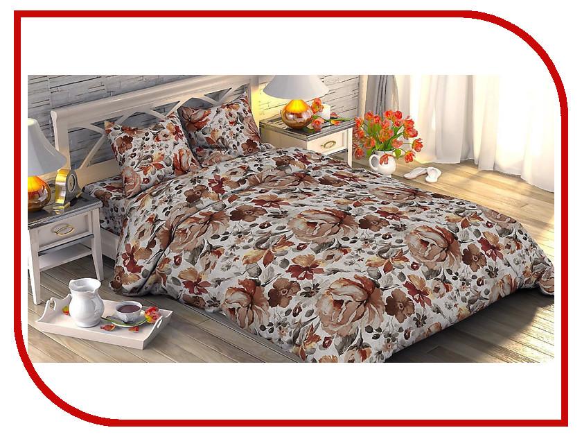 Постельное белье Этель Лорета Комплект 1.5 спальный Поплин 1534757