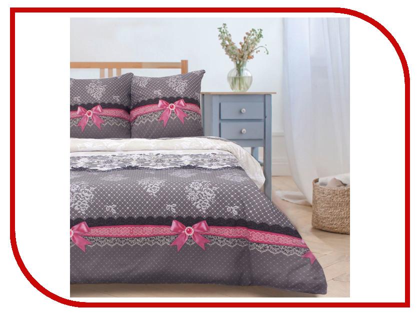 Постельное белье Этель Кружевная фантазия вид 2 Комплект 1.5 спальный Поплин 1154320