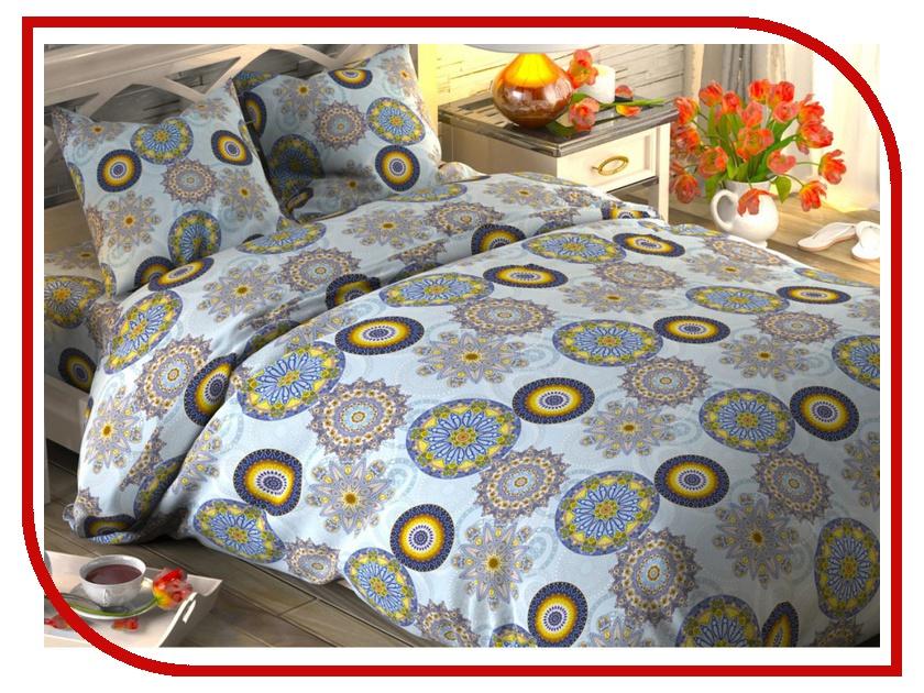 Постельное белье Этель Индийский узор Комплект 1.5 спальный Поплин 1444219