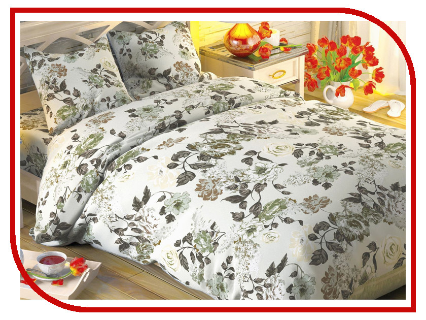 Постельное белье Этель Дольче Экрю Комплект 1.5 спальный Поплин 1504617 дольче габбана дольче в рив гош