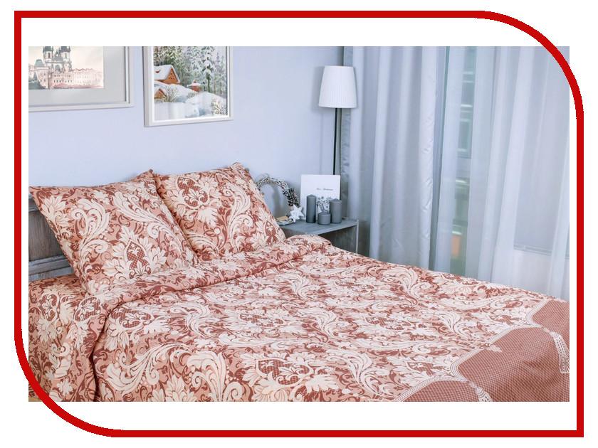 Постельное белье Этель Дамаск Комплект 1.5 спальный Поплин 1154319