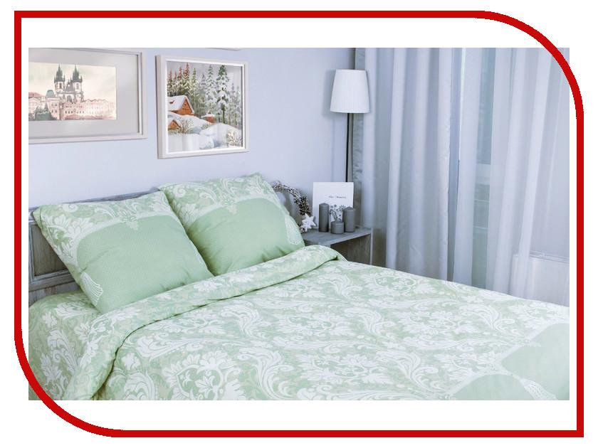 Постельное белье Этель Дамаск вид 2 Комплект 1.5 спальный Поплин 1154318