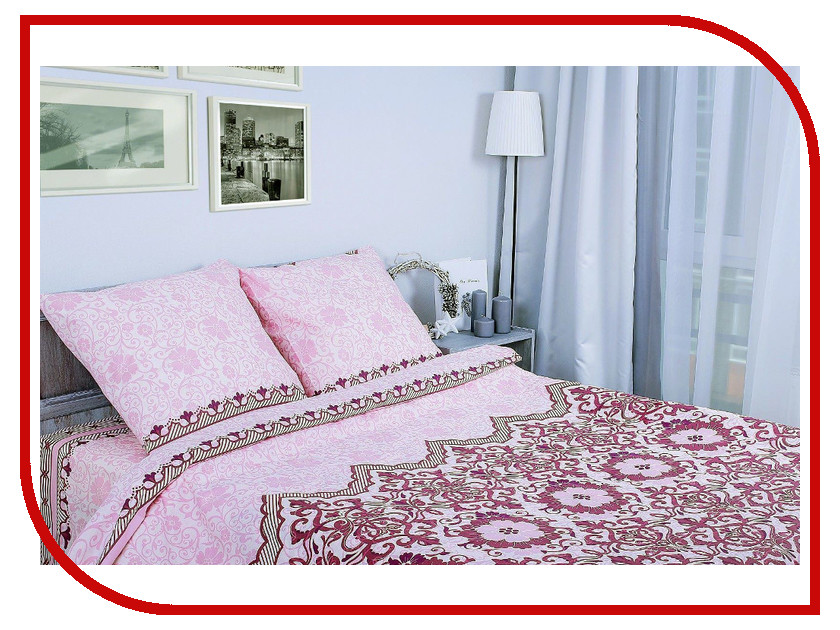 Постельное белье Этель Ажурная ночь Комплект 1.5 спальный Поплин 1154325