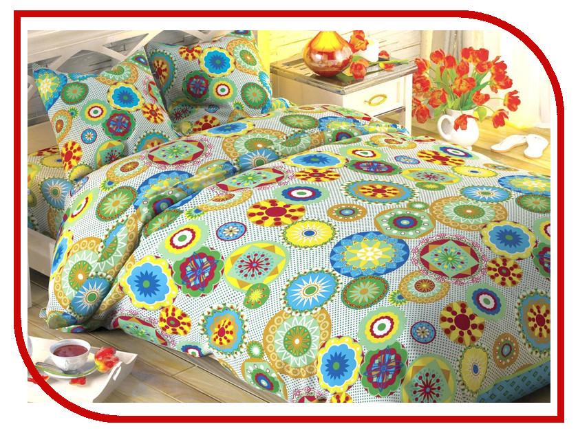 Постельное белье Этель Узор Комплект 1.5 спальный Поплин 1444231 постельное белье этель зеленый сад комплект 1 5 спальный поплин 1534721
