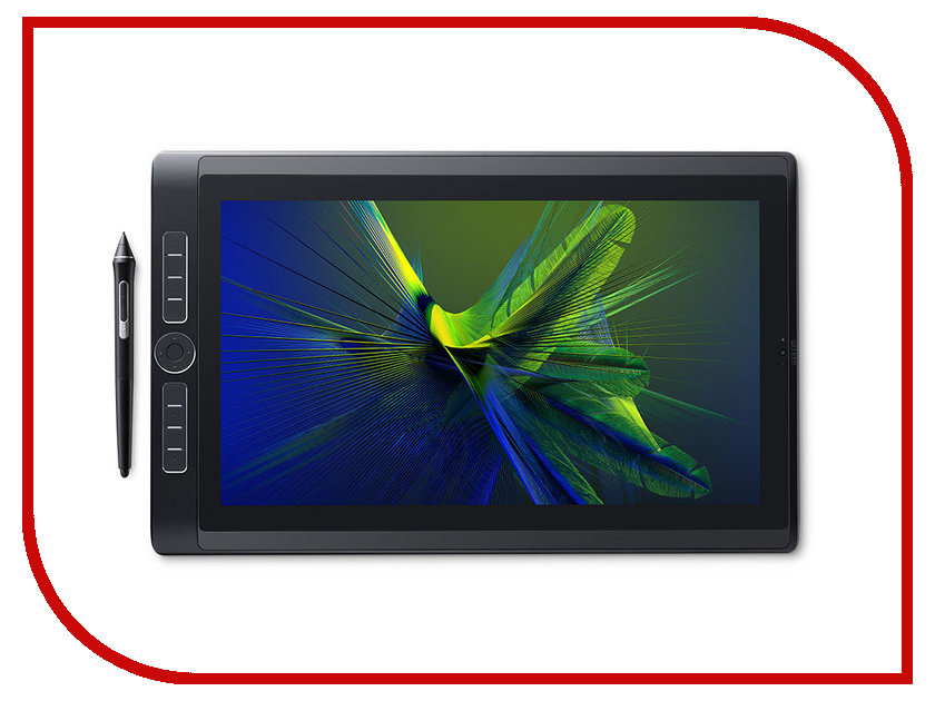 Графический планшет Wacom Mobile Studio Pro 16 256Gb DTH-W1620M-RU планшет samsung galaxy tab s3 sm t820n 4gb 32gb android 7 0 серебристый [sm t820nzsaser]