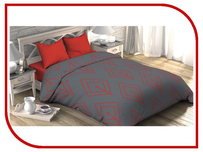 Постельное белье Этель Коралловый лепесток Комплект 1.5 спальный Поплин 2565802