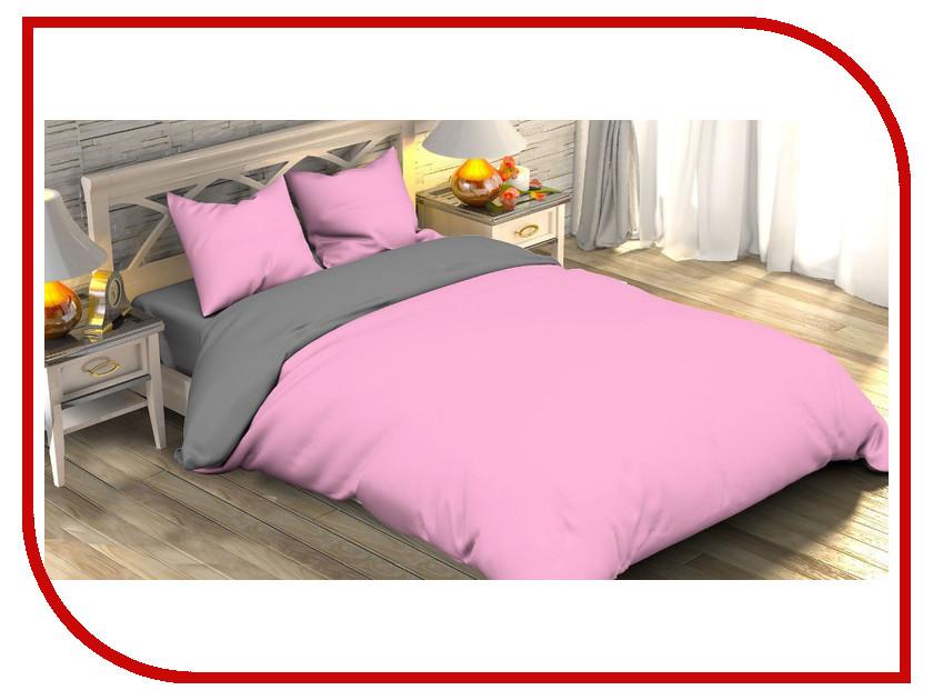 Постельное белье Этель Розовый рассвет Комплект 1.5 спальный Поплин 1877149 pleer ru ооо рассвет