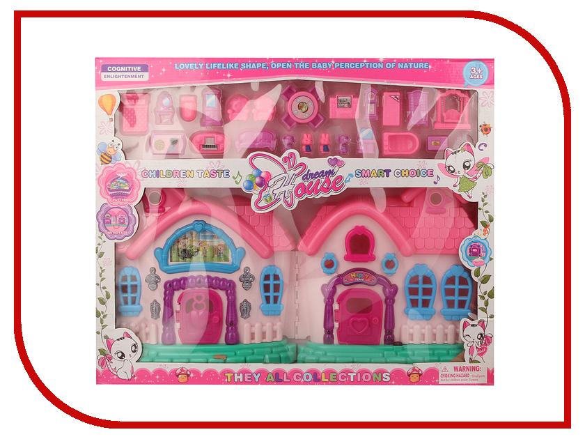 Кукольный домик Shantou Gepai Сказочный дом с фигурками 666-669-1 1 toy кукольный домик красотка колокольчик с мебелью 29 деталей