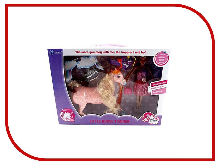 Кукла Shantou Gepai Кукла с лошадью BYL026-3 кукла shantou gepai лиза с аксессуарами 32 см в ассортименте