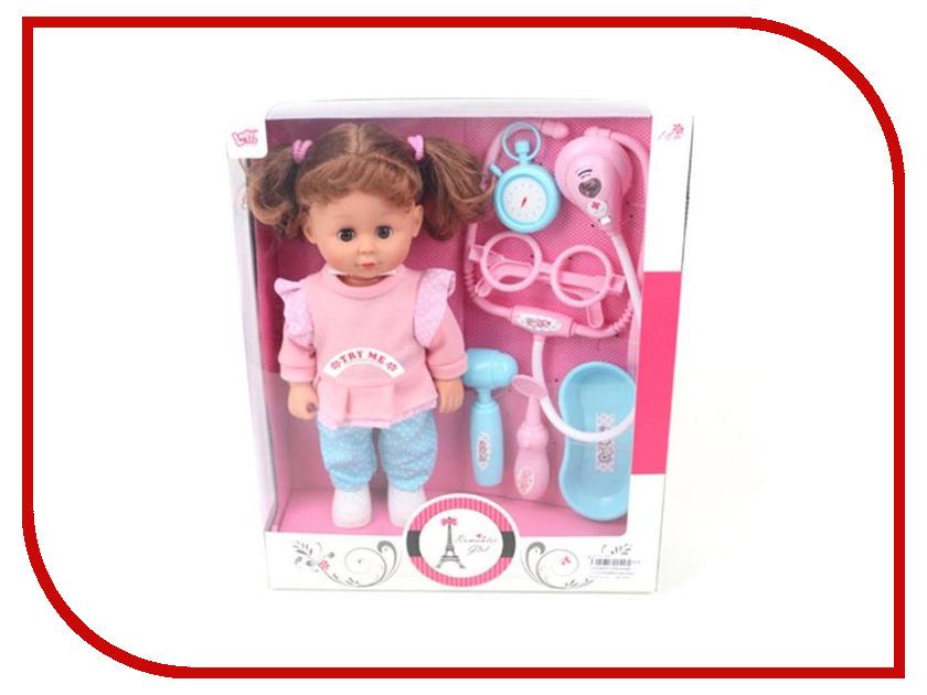 Кукла Shantou Gepai Кукла Лилли доктор LD66009D shantou gepai кукла озвученная baby toby