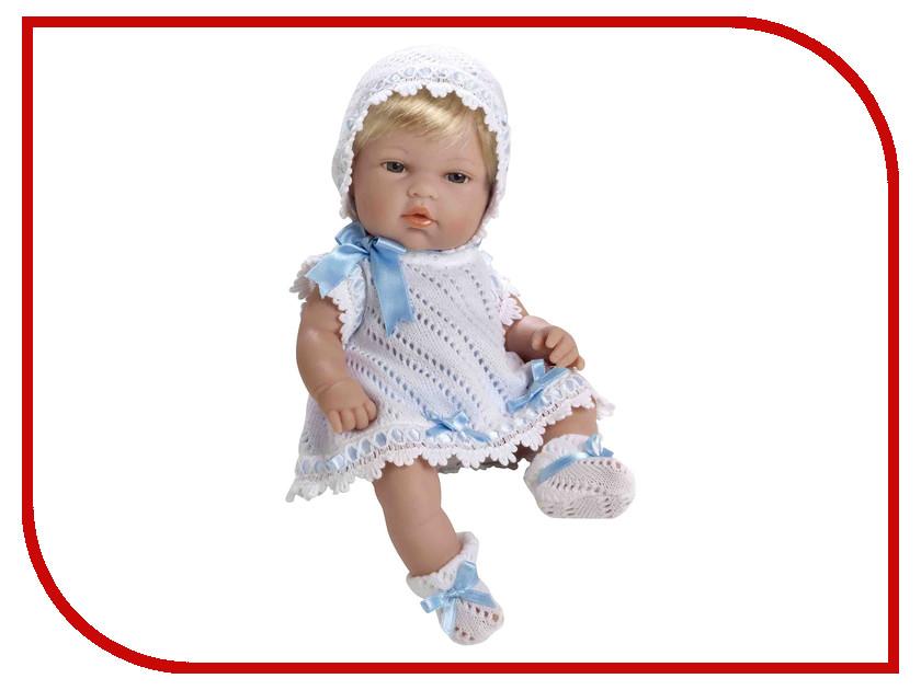 Кукла Arias Elegance Пупс блондинка White-Blue Т59269 arias пупс цвет платья белый розовый 42 см т59289