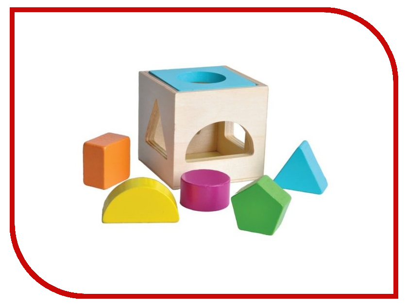 Игрушка Mapacha Сортер Кубик 7669 деревянные игрушки mapacha кубик радужный 3 в 1