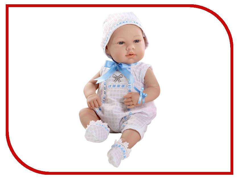 Кукла Arias Elegance Пупс White-Blue Т59290 arias пупс цвет платья белый розовый 42 см т59289
