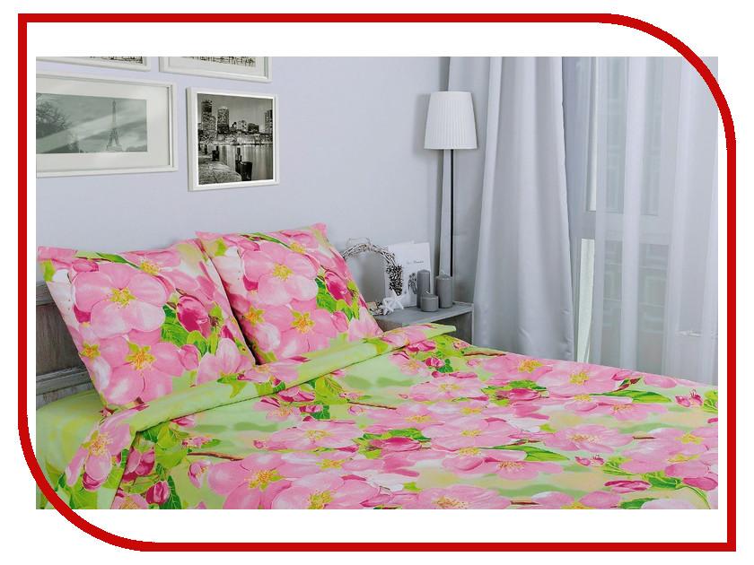 где купить Постельное белье Этель Яблоневый цвет Комплект 2 спальный Поплин 1154345 по лучшей цене