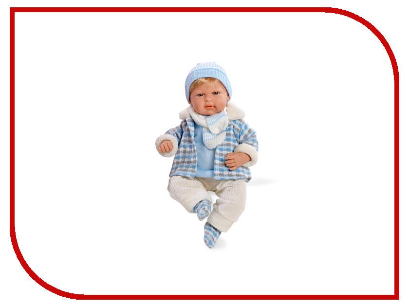 Кукла Arias Elegance Кукла с соской Blue Т59789 arias кукла клоун 38 см т59774