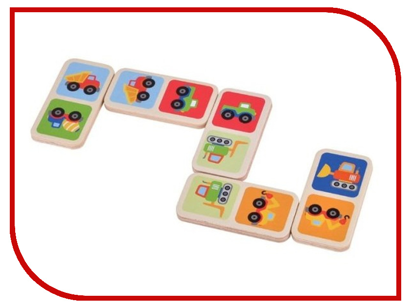 Игрушка Mapacha Домино Машинки 76665 игрушка домино счёт артикул д395