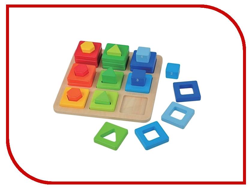 Игрушка Mapacha Сортер Цвета и фигуры 76667 деревянные игрушки mapacha сортер каталка машинка