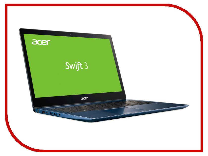 Ноутбук Acer Swift 3 SF315-51G-50SE NX.GQ6ER.001 (Intel Core i5-7200U 2.5 GHz/8192Mb/256Gb SSD/nVidia GeForce MX150 2048Mb/Wi-Fi/Bluetooth/Cam/15.6/1920x1080/Linux) ноутбук msi gp72 7rdx 484ru 9s7 1799b3 484 intel core i7 7700hq 2 8 ghz 8192mb 1000gb dvd rw nvidia geforce gtx 1050 2048mb wi fi bluetooth cam 17 3 1920x1080 windows 10 64 bit
