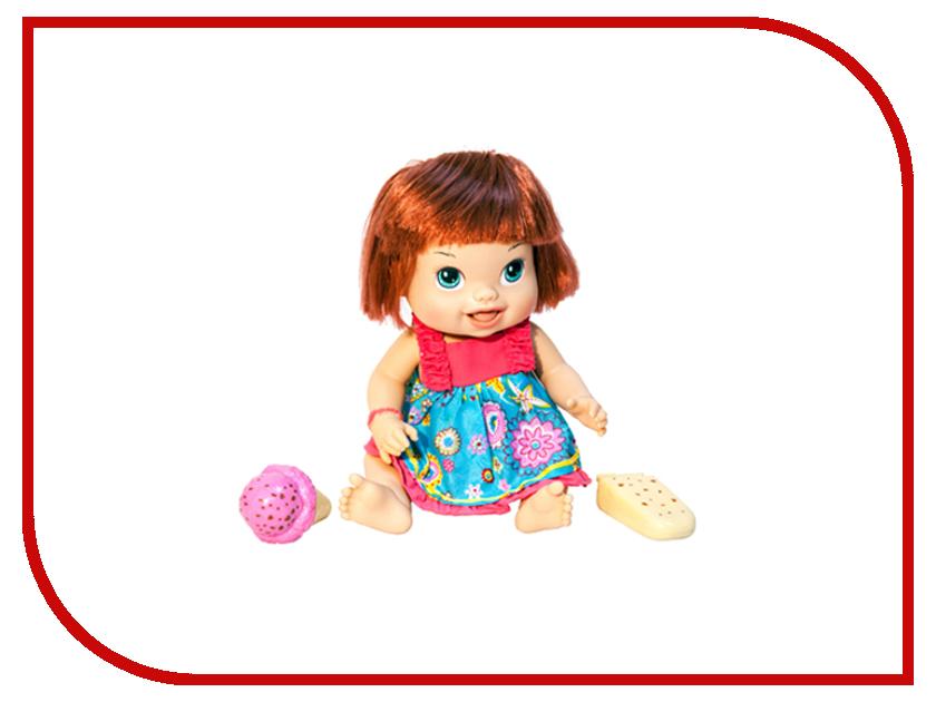 Кукла 1Toy Кукла с мороженым Лакомка Лиза с каре Т10376 1toy 1toy кукла лакомка лиза с мороженым красноволосая с хвостиками 36 см