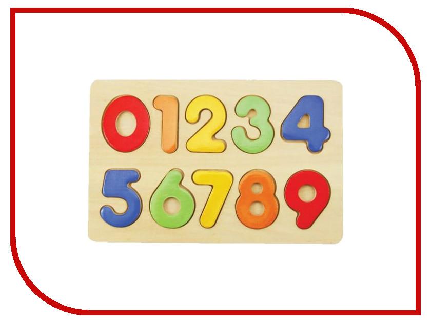 Игрушка Mapacha Вкладыши Изучаем цифры 76686 изучаем цифры