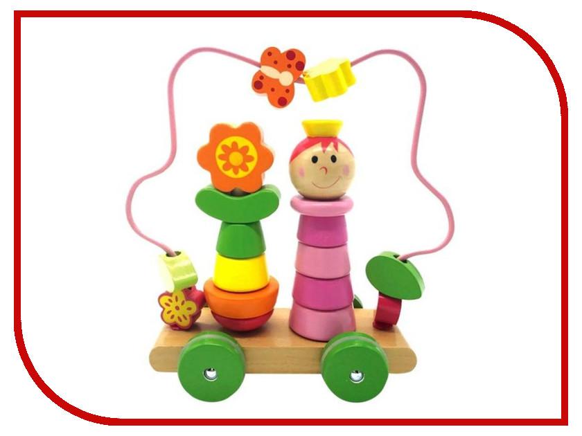 Игрушка Mapacha Лабиринт пирамидка Девочка на колесиках 76729