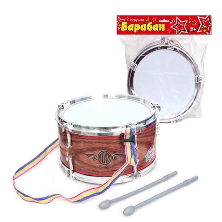 Детский музыкальный инструмент Тилибом Барабан Т80603 детский музыкальный инструмент onlitop барабан 679155