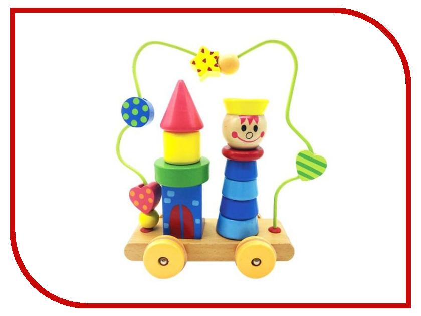 Игрушка Mapacha Лабиринт пирамидка Мальчик на колесиках76730
