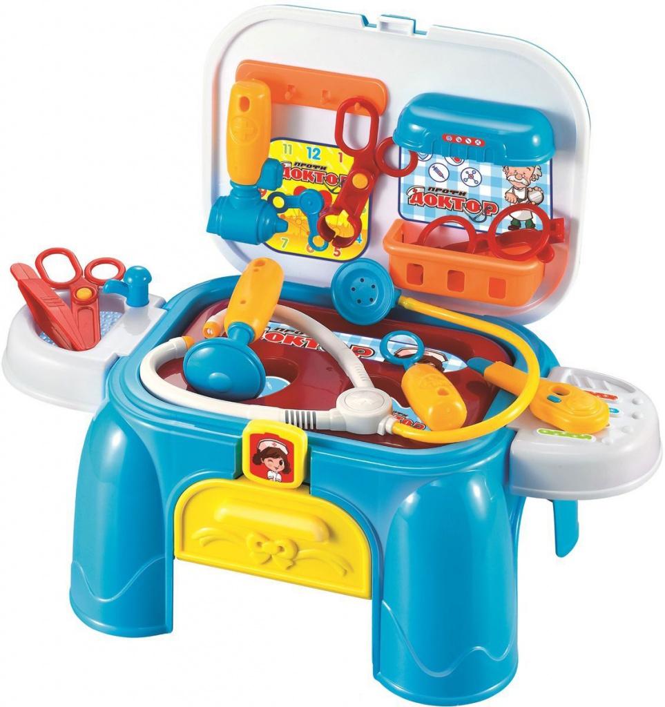 Игровой набор 1Toy Профи Доктор Т10181 1toy игровой набор профи грумер 16 предметов