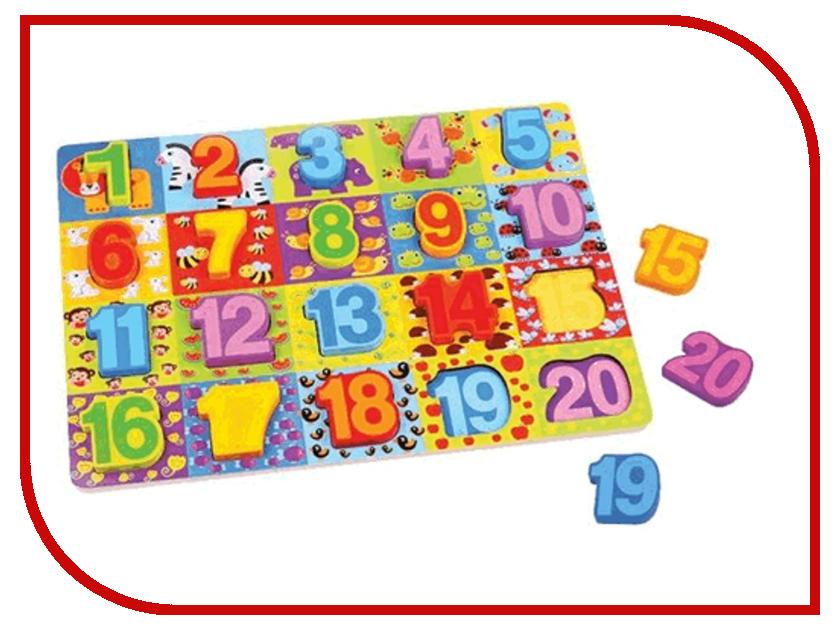 Игрушка Mapacha Вкладыши Цифры 76728