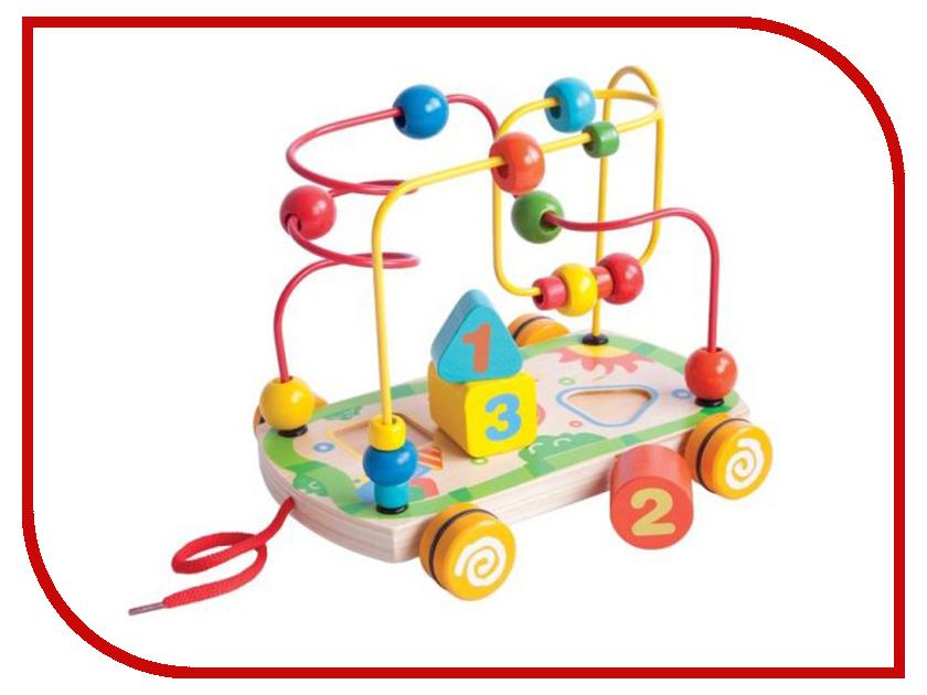 Игрушка Mapacha Лабиринт сортер большой 76675 деревянные игрушки mapacha сортер каталка машинка