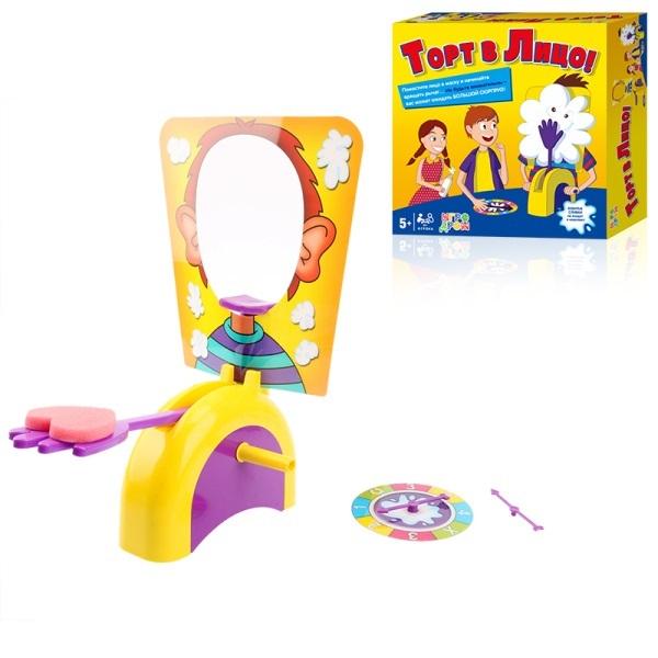 Настольная игра 1Toy Торт в лицо Т10704