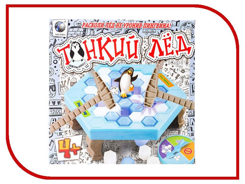 Настольная игра 1Toy Тонкий лед Т10831 настольная игра 1toy бильярд т52443