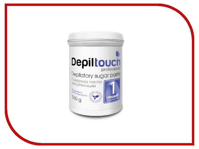 Домашний шугаринг Depiltouch Professional Сахарная паста Сверхмягкая 330гр 87702 шугаринг вельвет купить