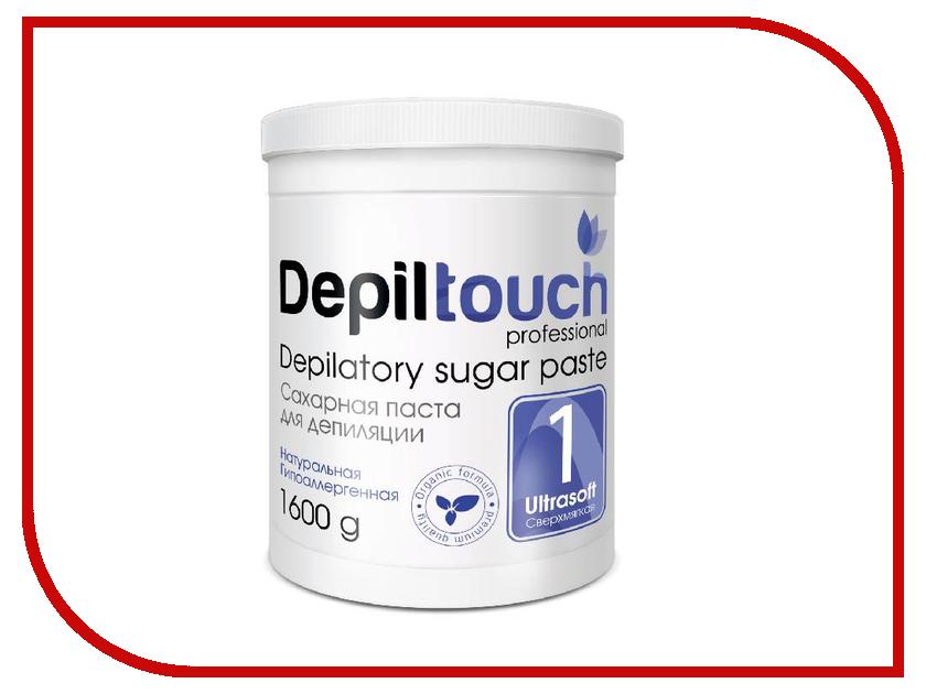 Домашний шугаринг Depiltouch Professional Сахарная паста Сверхмягкая 1600гр шугаринг вельвет купить