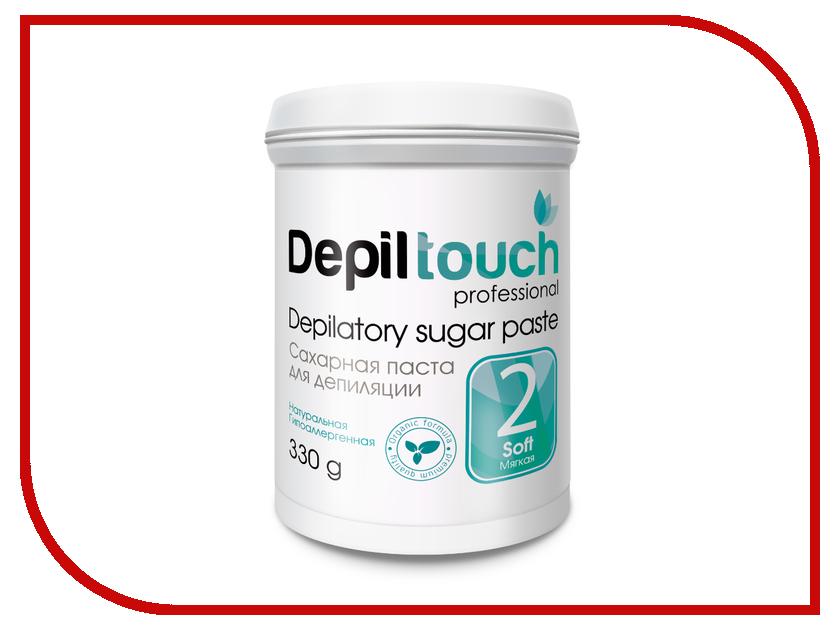 Домашний шугаринг Depiltouch Professional Сахарная паста Мягкая 330гр 87703 шугаринг вельвет купить