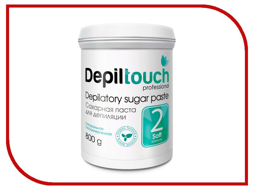 Домашний шугаринг Depiltouch Professional Сахарная паста Мягкая 800гр 87708 шугаринг вельвет купить