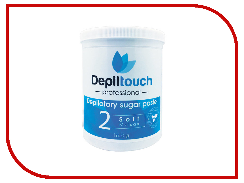 Домашний шугаринг Depiltouch Professional Сахарная паста Мягкая 1600гр 87714 шугаринг вельвет купить
