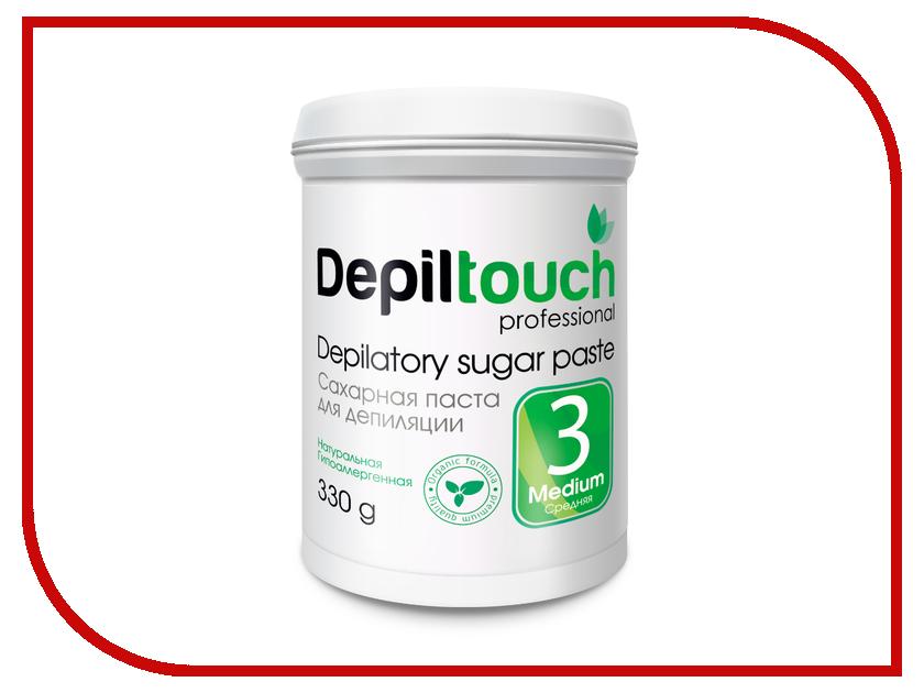 Домашний шугаринг Depiltouch Professional Сахарная паста Средняя 330гр 87704