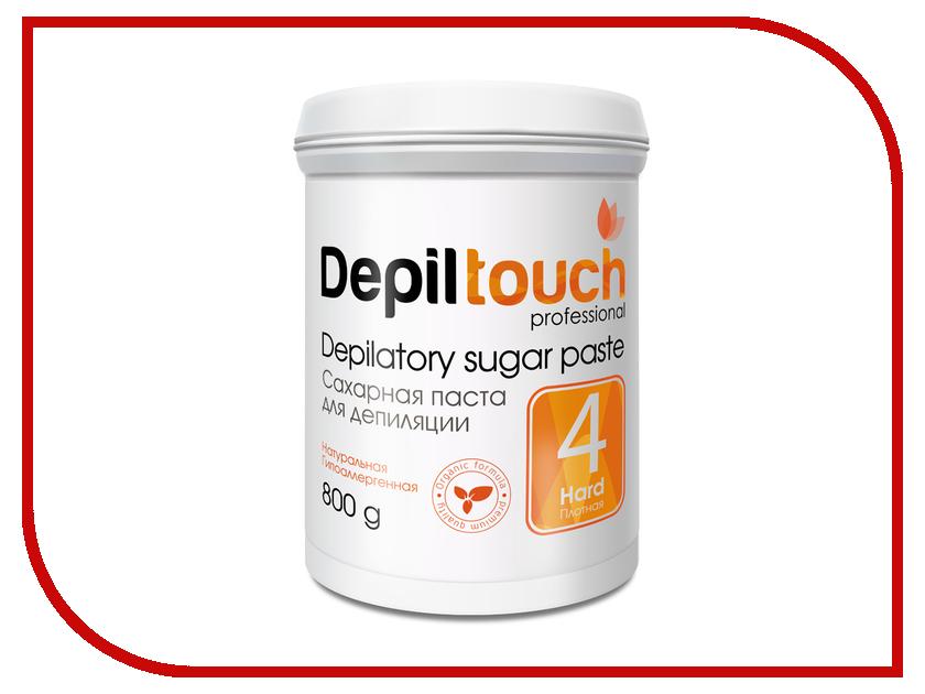 Домашний шугаринг Depiltouch Professional Сахарная паста Плотная 800гр 87710 шугаринг вельвет купить